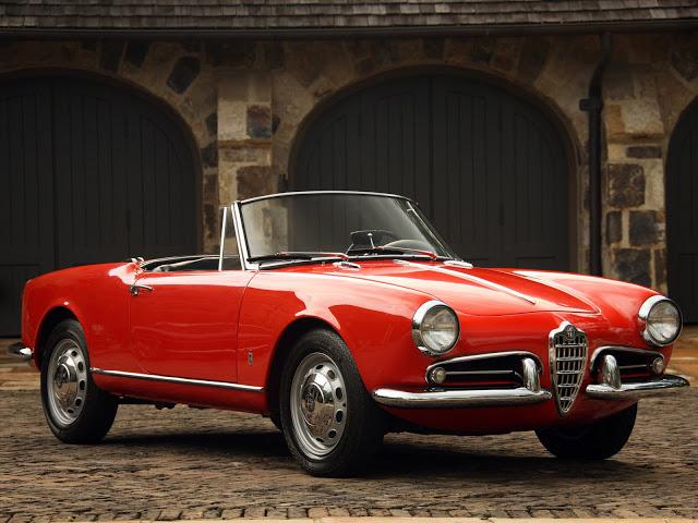 Alfa Romeo Giulietta Spider. Fuente: classicitalianscars.com