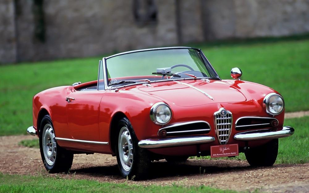 Alfa Romeo Giulietta Spider. Foto: Pinterest