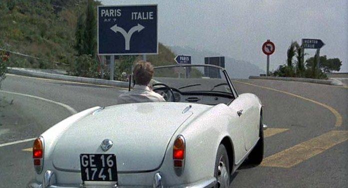 Alfa Romeo Giulietta Spider en la película Il Sorpasso