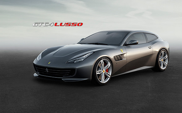 Ferrari GTC 4 Lusso. Fuente: Ferrari