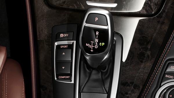 Cambio automático de 8 relaciones de BMW. Fuente: BMW