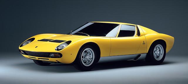 Lamborghini Miura. Fuente: Lamborghini