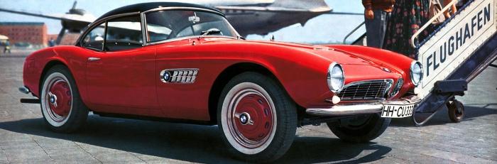BMW 507. Foto: BMW