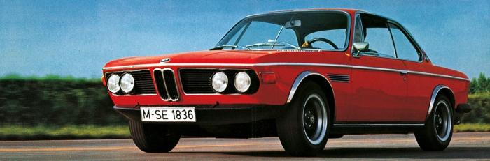 BMW 3.0 CLS. Foto: BMW