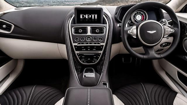 Aston Martin DB 11. Fuente: Aston Martin