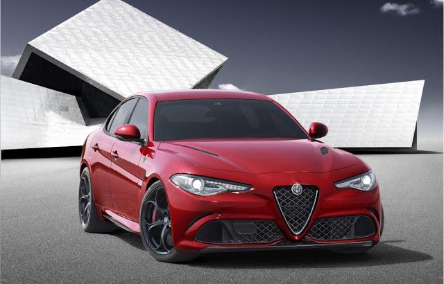 Alfa Romeo Quadrifoglio Verde. Foto: Auto Bild