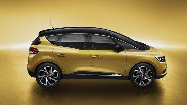 Nuevo Renault Scenic. Fuente: Renault