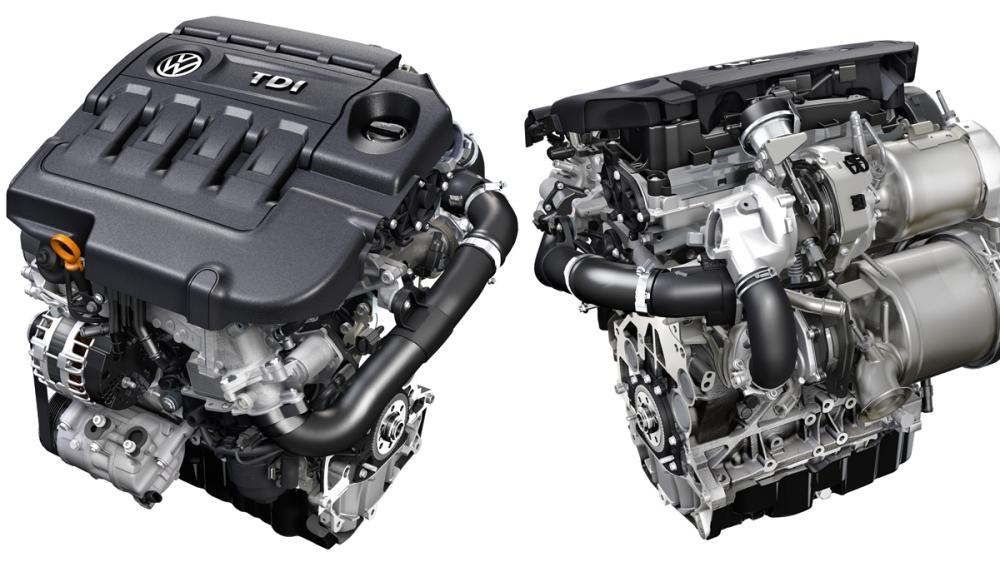 Motor TDI de Volskwagen. Foto: Auto Bild