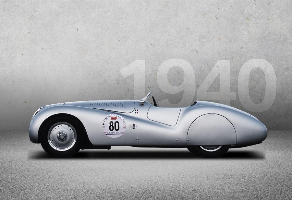 BMW 328 Mille Miglia 1940. Foto: BMW