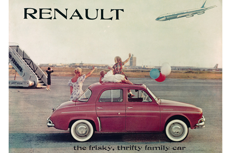 Renault Dauphine. Foto: bestcarmag.com