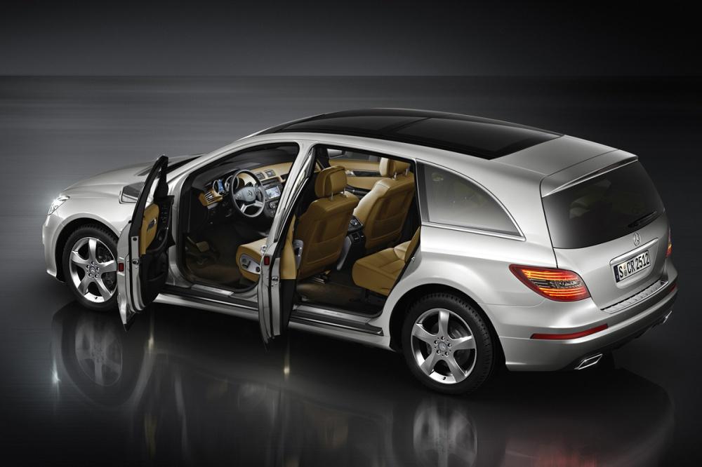 Mercedes Clase R 2010. Foto: noticias.coches.com