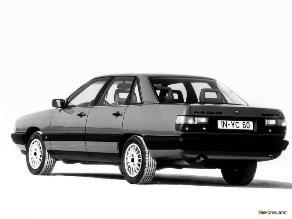 Audi 100. Foto: favcars.com