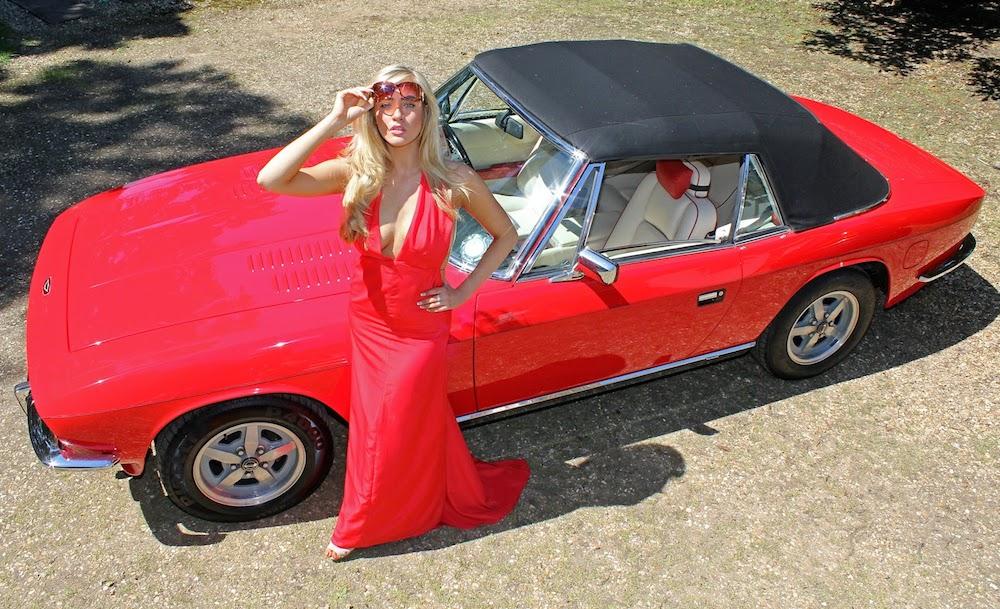 Jensen Interceptor Cabriolet. Foto: motorward.com