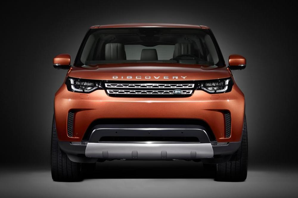 Land Rover Discovery 2017. Foto: autoexpress