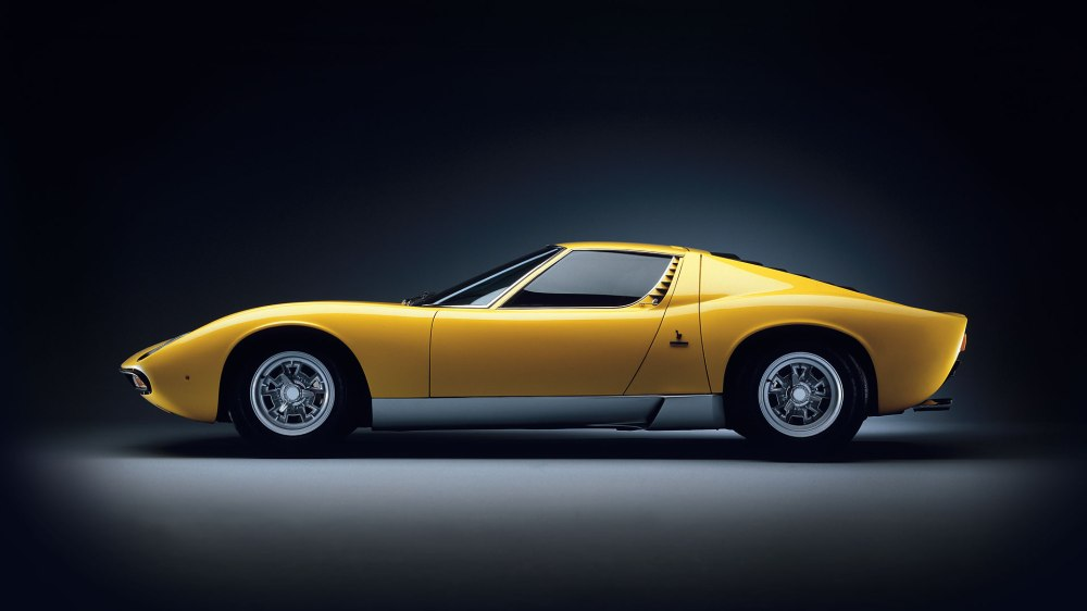 Lamborghini Miura. Foto: Lamborghini