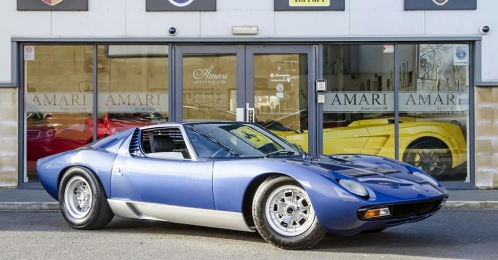 Lamborghini Miura de Rob Stewart. Foto: escuderia.com