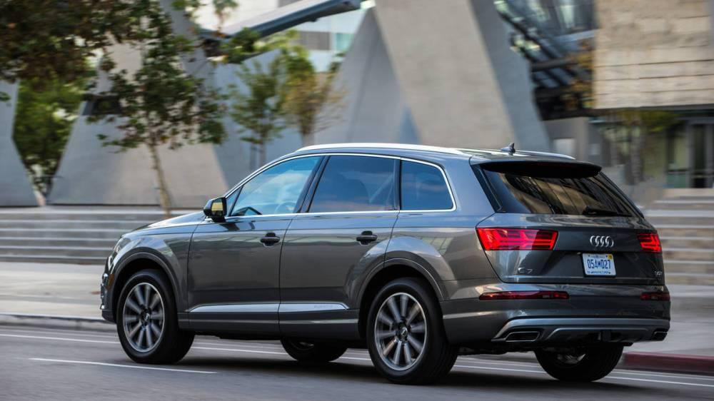 Audi Q7. Foto: Car and Driver