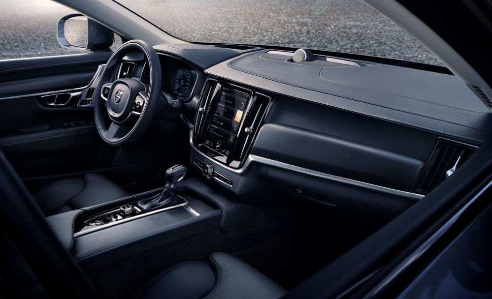 Interior del Volvo V90 Cross Country. Foto: Volvo