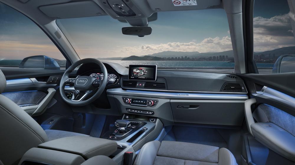 Interior del nuevo Audi Q5. Foto: Audi