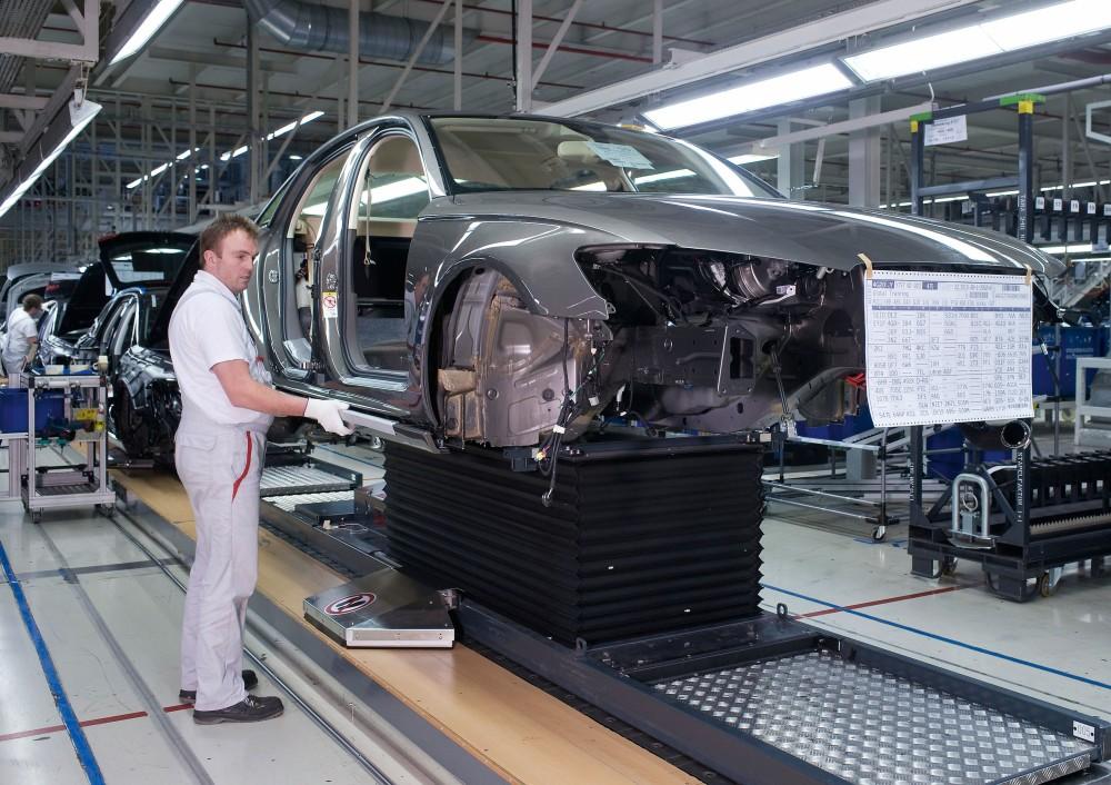 Una instalación de Audi. Foto: Audi