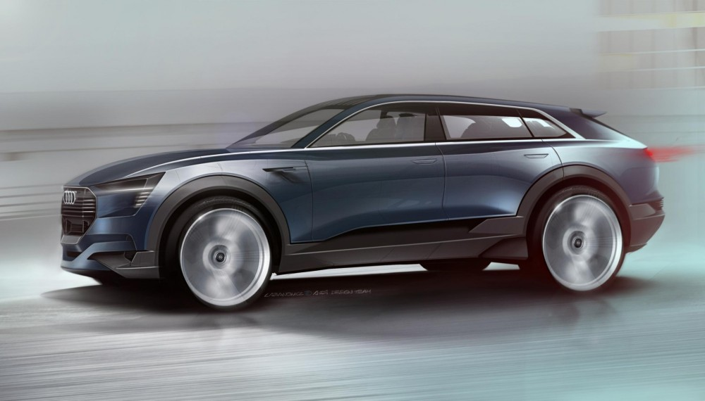 Audi Electric SUV Concept car. Foto: Forbes
