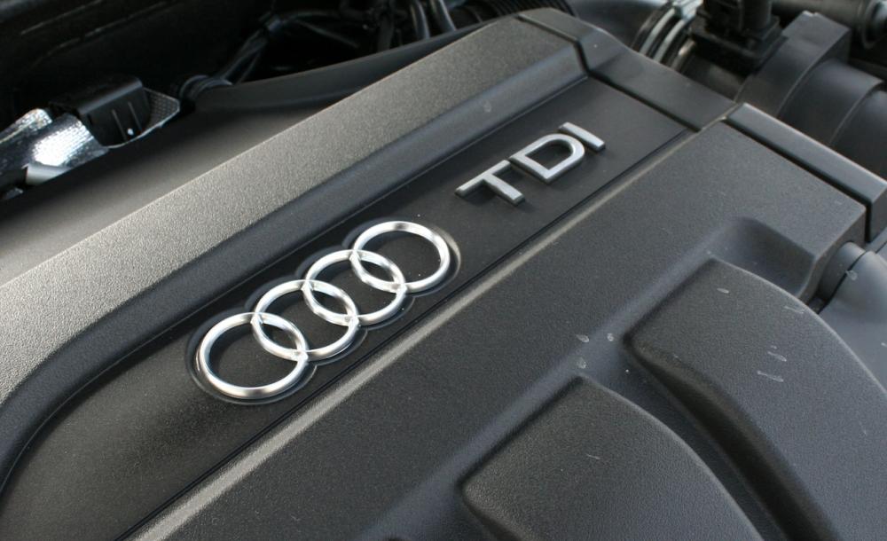 Motor 2.0 TDI del Grupo Volkswagen. Foto: Audi