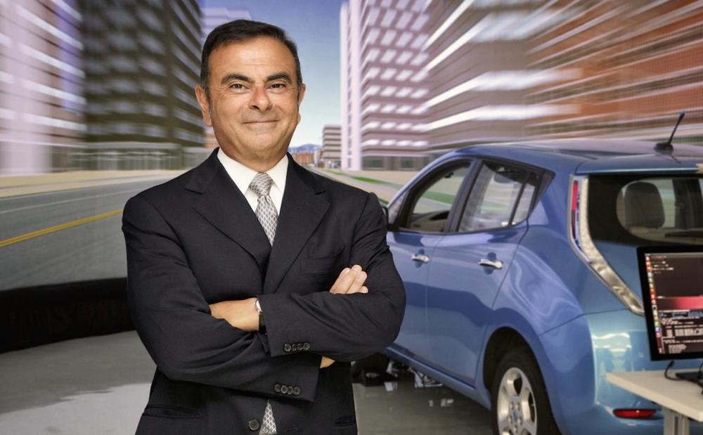 Carlos Ghosn, Presidente del Grupo Renault-Nissan. Foto: Nissan