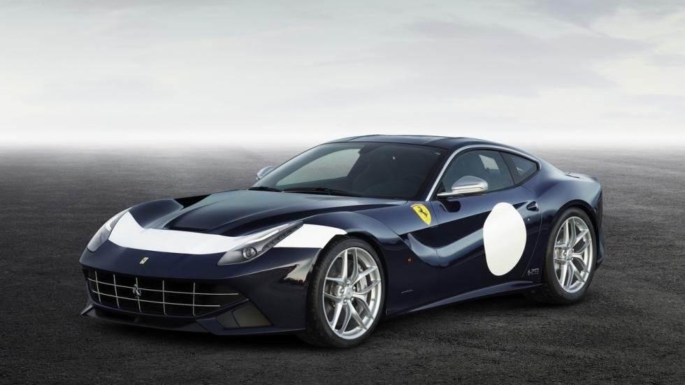 Ferrari F12 Berlinetta Stirling inspirado en el 250 SWB de Stirling Moss