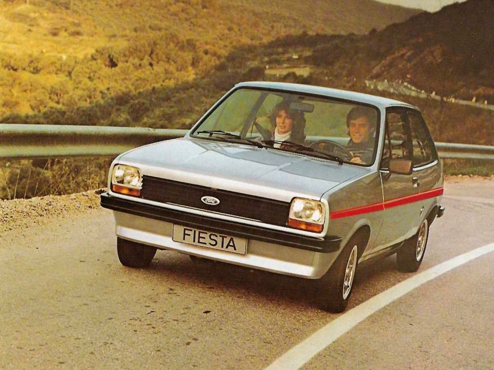 Ford Fiesta mk I. Foto: Pinterest