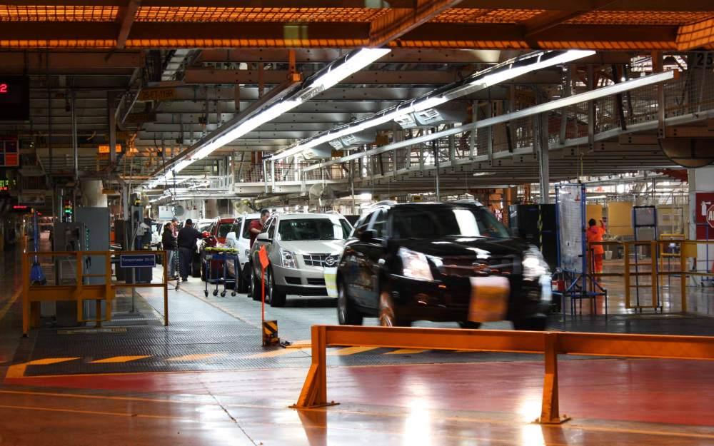 Fábrica de General Motors. Foto: General Motors