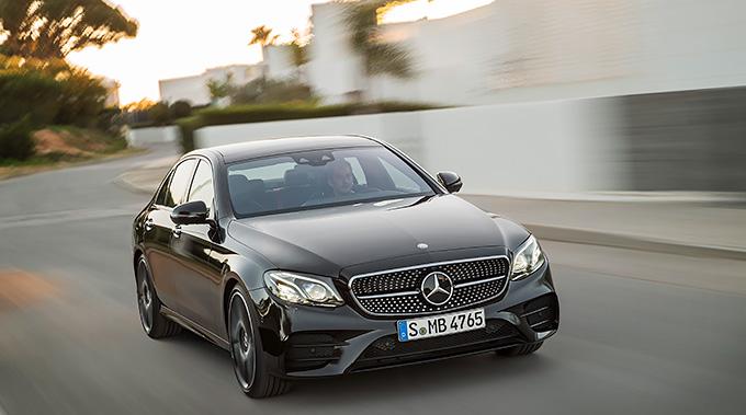 Mercedes E 45 AMG. Foto: Mercedes
