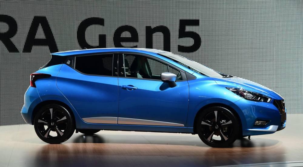 Nuevo Nissan Micra. Foto: Nissan