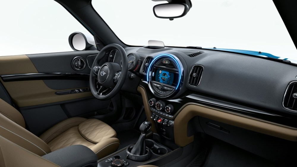 Interior del nuevo Mini Countryman. Foto: Mini