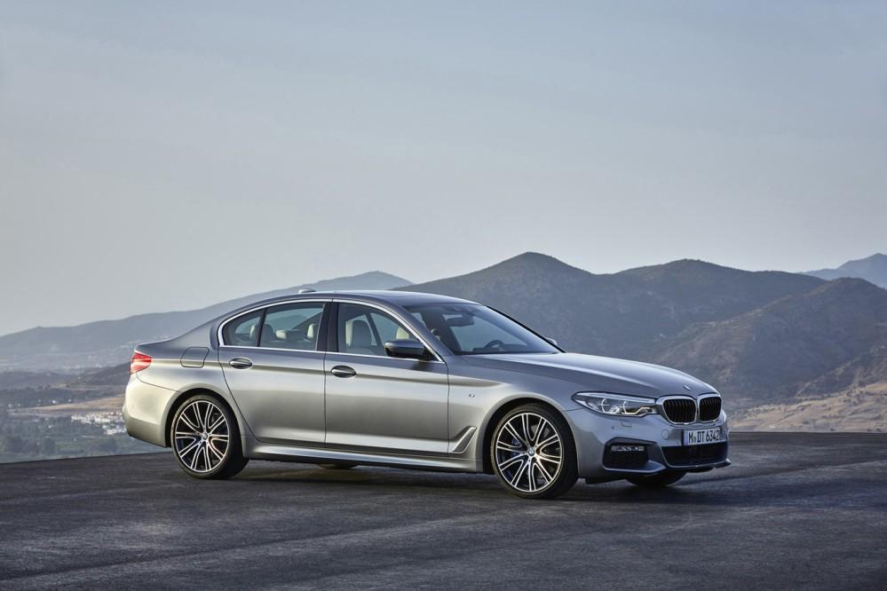 BMW Serie 5 2017. Foto: BMW