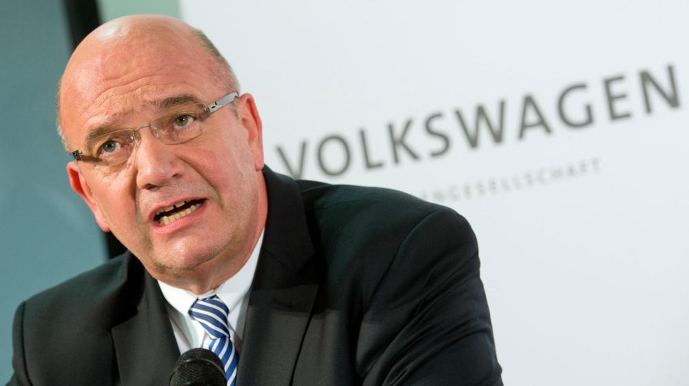 Bernd Osterloh, miembro del Consejo de Administración del Grupo Volskwagen. Foto: Deutsche Press Agentur