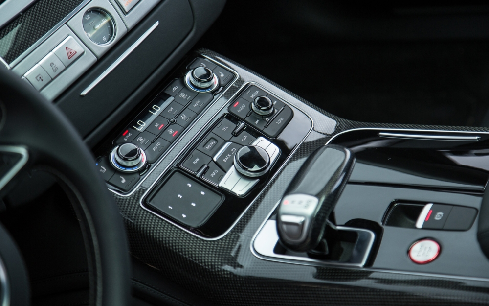 Cambio Tiptronic de Audi. Foto: Robert Kerian