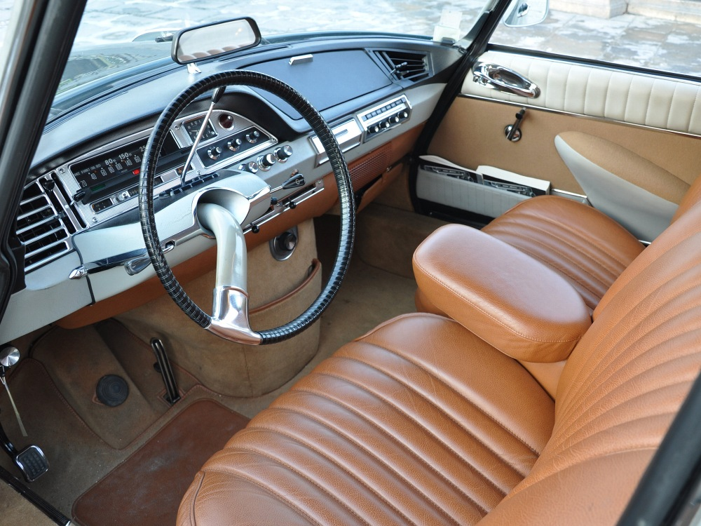 Interior del Citroën DS