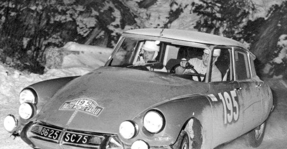 Citroën DS Rally Montecarlo