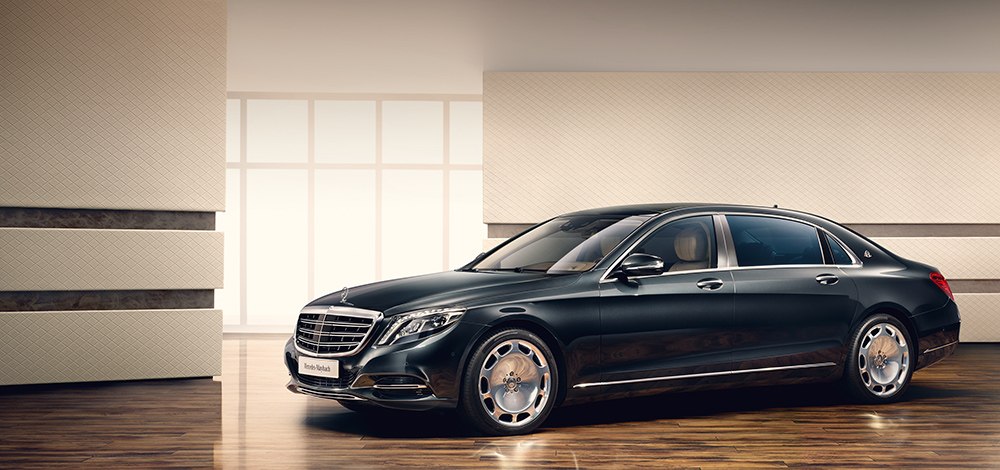 Mercedes-Maybach S 600. Foto: Mercedes