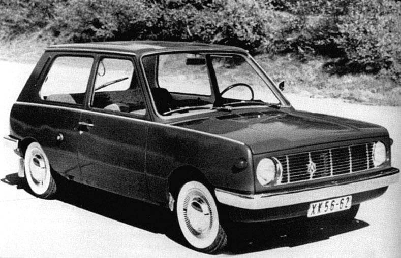 Prototipo del Trabant 603