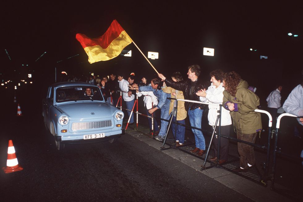 La noche de la caída del muro de Berlín. Foto: SVEN SIMON (CORDON PRESS)