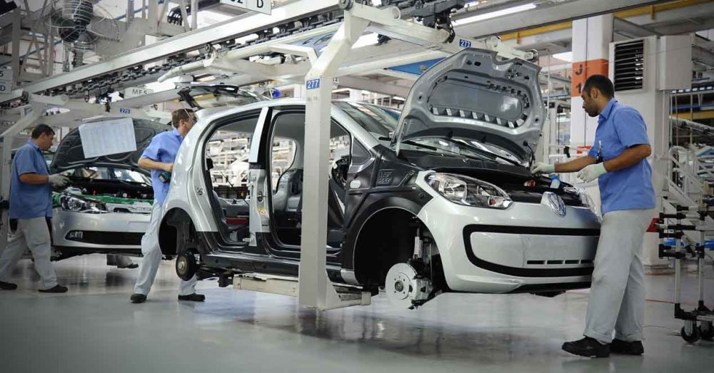 Fábrica de Volkswagen en Wolfsburgo. Foto: Deutsche Presse-Agentur
