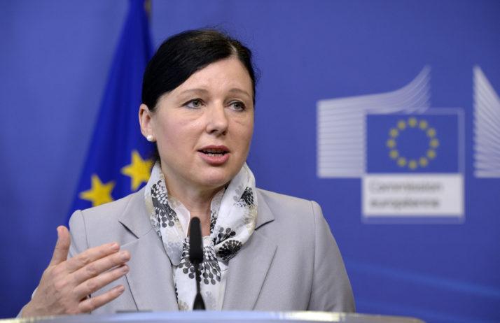Comisaria de Justicia, Consumo e Igualdad de género, Vera Jourova. Foto: Getty Images