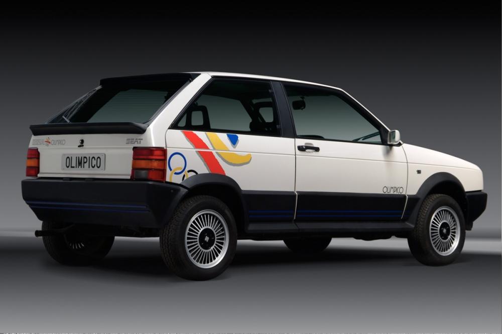 SEAT Ibiza, coche oficial de los Juegos Olímpicos de Barcelona'92